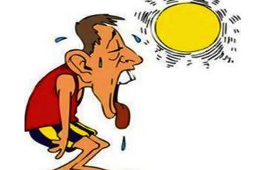 लू Sun stroke